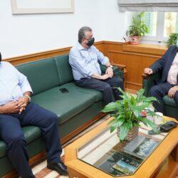 Συνάντηση του περιφερειάρχη Κρήτης με τον Πρόεδρο του ΕΚΑΒ