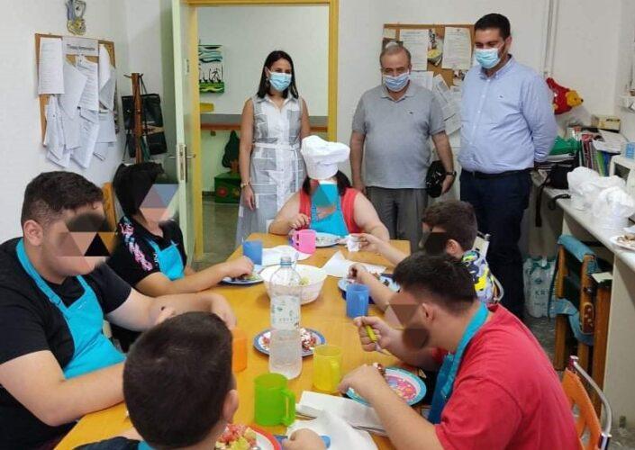 Ενημέρωση για την διατροφική αξία της κρητικής κουζίνας στα παιδιά των κέντρων κοινωνικής πρόνοιας Κρήτης