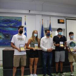Ο δήμος Χανίων βράβευσε τους Χανιώτες αθλητές που μας έκαναν περήφανους σε Ευρώπη και παγκόσμια