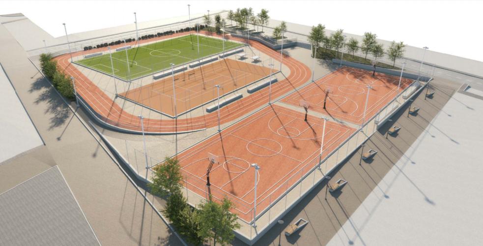 Νέος δημοτικός πολυχώρος αθλητικών εγκαταστάσεων διαμορφώνεται στον Κουμπέ