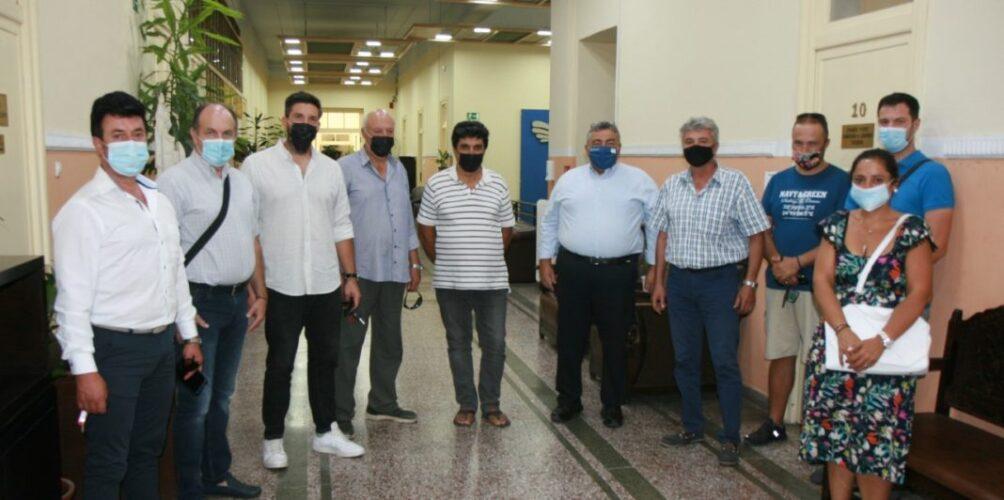 Χανιά: Συνάντηση του Αντιπεριφερειάρχη με εκπροσώπους των Εμπόρων Αυτοκινήτων