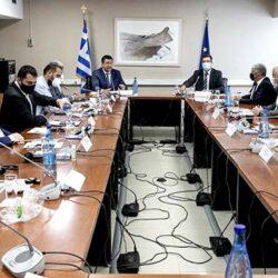 Σε σύσκεψη για την πολιτική προστασία και τη διαχείριση κρίσεων με τον ευρωπαίο επίτροπο ο Περιφερειάρχης Κρήτης