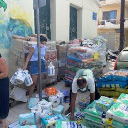 Γέμισαν οι αποθήκες του Δήμου Χανίων από την αλληλεγγύη των Χανιωτών προς τους πυρόπληκτους Εύβοιας και Αττικής