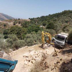 Δήμος Πλατανιά: Έργα αποκατάστασης καταστροφών της θεομηνίας του '19 στην Χωστή