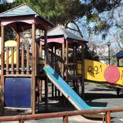Αλλάζει όψη η παιδική χαρά του Δημοτικού Κήπου Χανίων