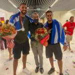 """Χανιά: Πανηγυρισμοί στο """"Δασκαλογιάννης"""" για τον ασημένιο Ολυμπιονίκη Δημήτρη Σκουμπάκη"""