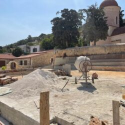 Συνεχίζονται οι εργασίες στη νέα πλατεία Τσικαλαριών