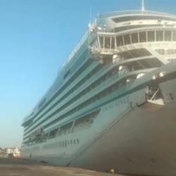 """Στο λιμάνι της Σούδας το κρουαζιερόπλοιο """"Viking Venus"""""""