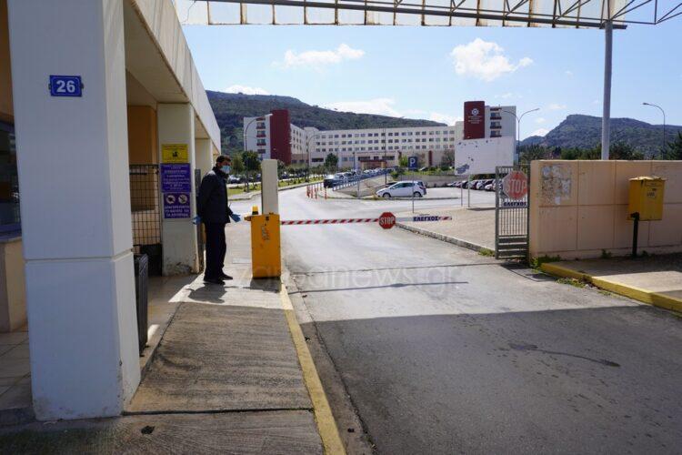 Τέλος τα επισκεπτήρια στο νοσοκομείο Χανίων - Μόνο με τεστ και πιστοποιητικό νόσησης οι συνοδοί