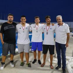 Ο ΝΟΧ υποδέχθηκε τους τρεις Χανιώτες έφηβους πολίστες, με το αργυρό πανευρωπαϊκό μετάλλιο στο στήθος τους