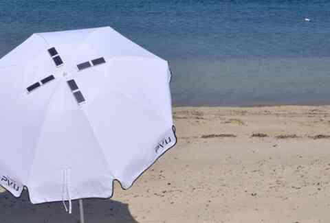 Η πρώτη στον κόσμο φωτοβολταϊκή ομπρέλα θαλλάσης, έρχεται από Θεσσαλονίκη