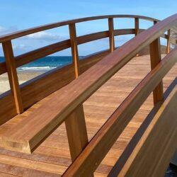 Εγκαινιάζονται οι νέες πεζογέφυρες του Κλαδισού, στο τέρμα Σελίνου