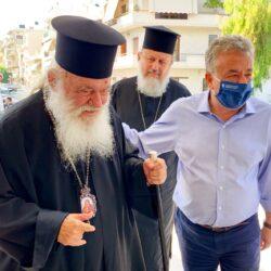 Στην Κρήτη ο αρχιεπίσκοπος Αθηνών κ.κ. Ιερώνυμος για τους σεισμόπληκτους