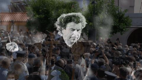 Στην Κρητική γη επέστρεψε για πάντα ο Μίκης Θεοδωράκης