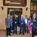 Επίσκεψη του Προέδρου της Βουλής, Κωνσταντίνου Τασούλα στο Ιστορικό Καφέ «Κήπος»