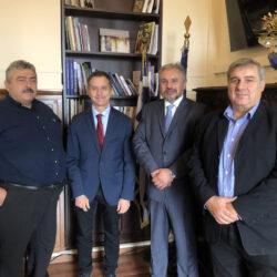 Συναντήσεις στα Χανιά για τον επικεφαλής του Ινστιτούτου «Πολιτιστικών Διαδρομών» του Συμβουλίου της Ευρώπης