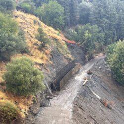 Έργα αποκατάστασης καταστροφών σε υποδομές oδοποιίας, στους Λάκκους