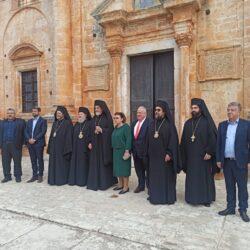 Ανακοινώθηκε η ίδρυση Πατριαρχικού Ιδρύματος στο μοναστήρι της Αγίας Τριάδας στο Ακρωτήρι